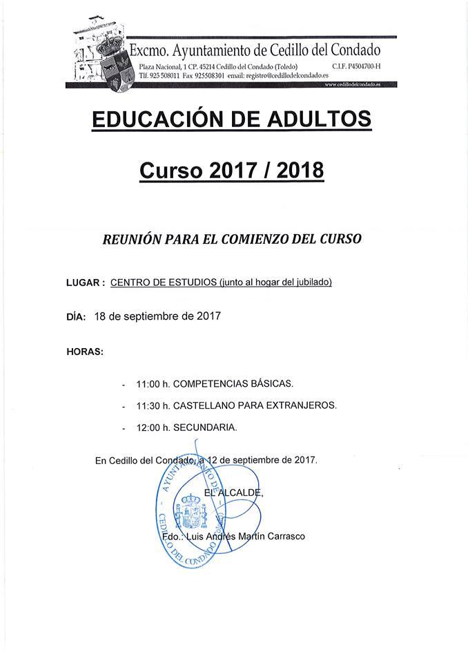 EDUCACION ADULTOS